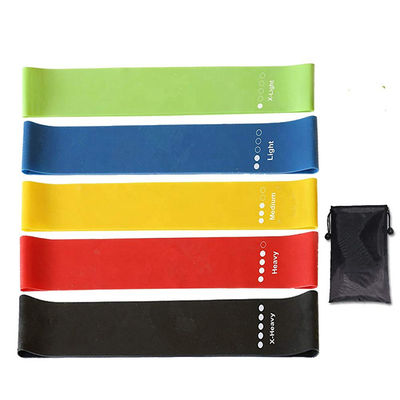 600x50mm Elastic Exercise Bands Loop Band Set ,  Latex Pull Up Resistance Bands