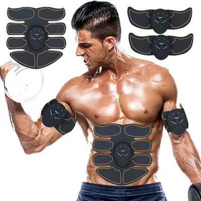 Black Pink Home Fitness Equipment ,  ABS Abdominal Muscle Stimulator